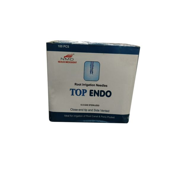 Root Canal Irrigation Needle Side Vented (Pack of 100pc)